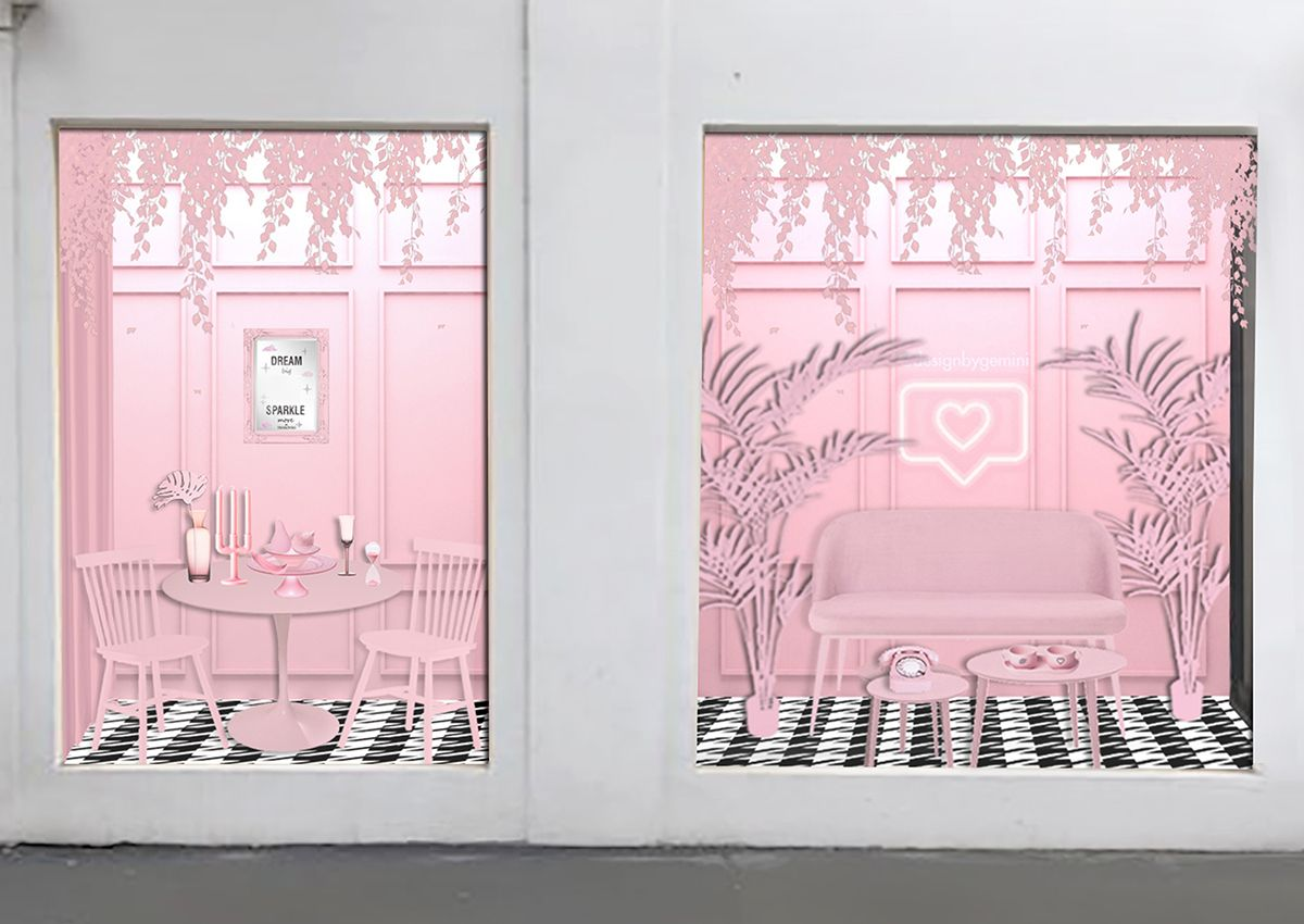 Millennial Pink Room_Art Box