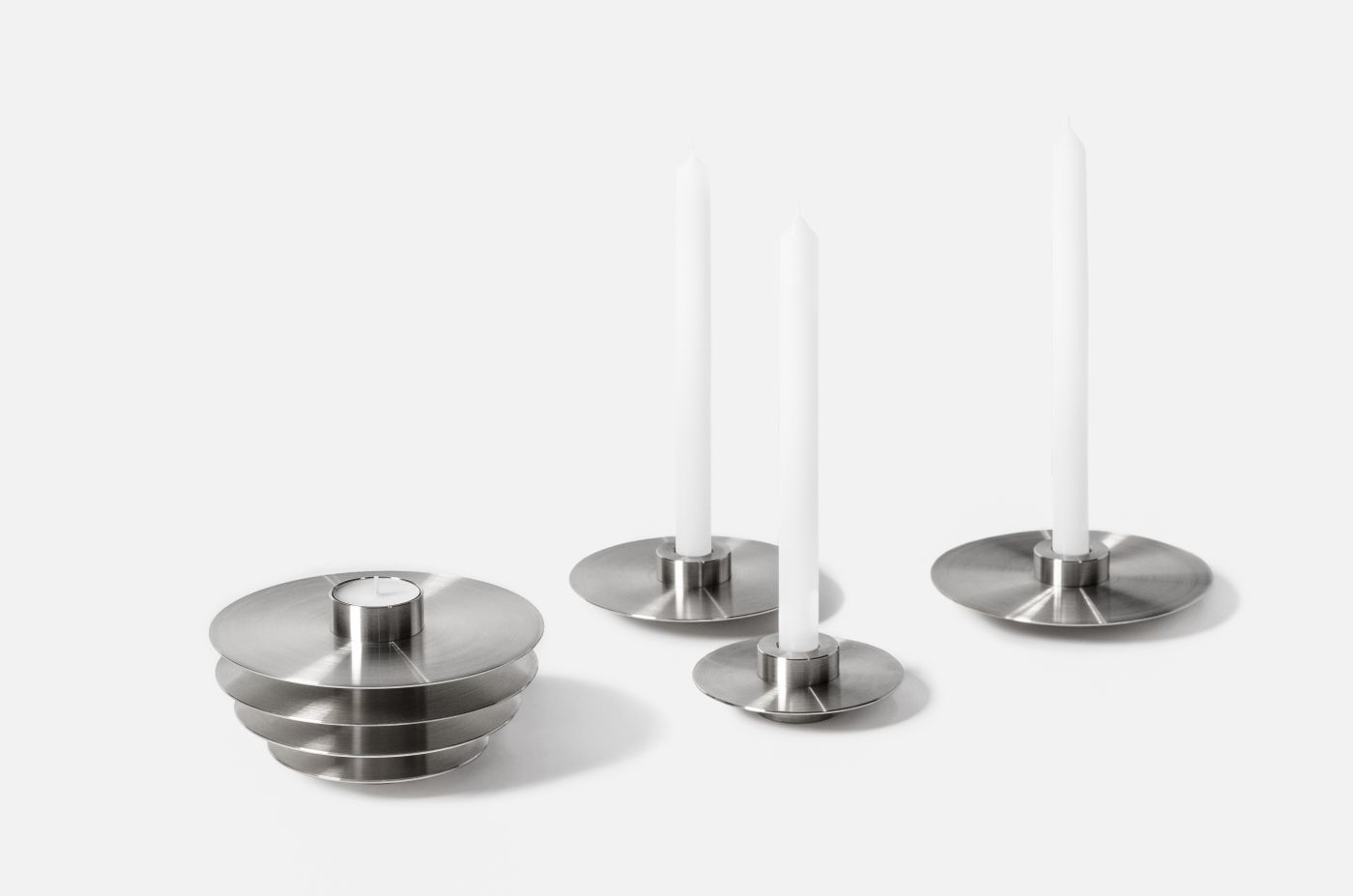 Set of 7 candleholders ORB by noom (6)